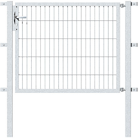 GAH Stabgitter Einzeltor FLEXO fvz 1250 x 1000 mm