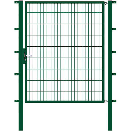 GAH Stabgitter Einzeltor FLEXO grün 1500 x 1800 mm