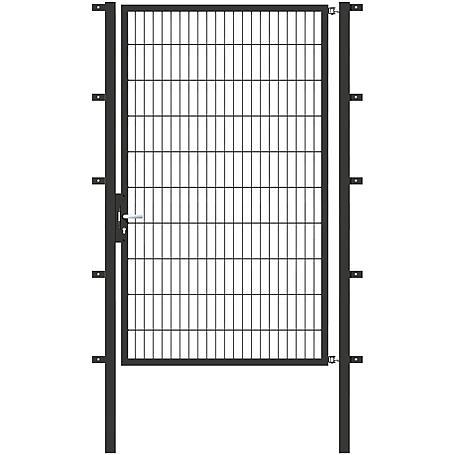 GAH Stabgitter Einzeltor FLEXO anth 1250 x 2000 mm