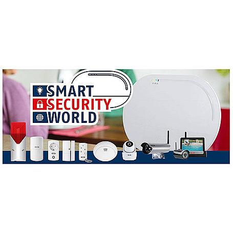 Abus Smartvest Funkalarm Basis-Set mit Wlan Kamera