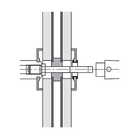 FSB 050177 Wechselstift 8x115mm Türstärke 66-75mm