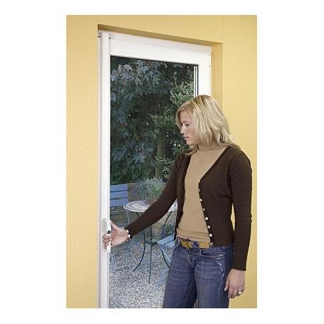 ABUS FOS550 W AL0125 Fenster-Stangenschloss, weiß