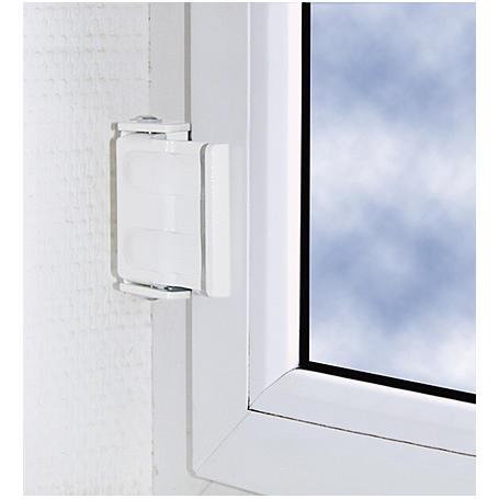 Abus SW1 B  Sicherheitswinkel f. Fenster, braun