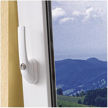 ABUS FG300 W AL0125 abschließb. Fenstergriff, weiß