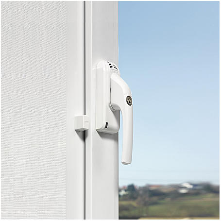 Abus FG300A W Alarm-Fenstergriff - DIN rechts