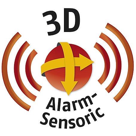 Abus FG300A W AL0125 Alarm-Fenstergriff, DIN links