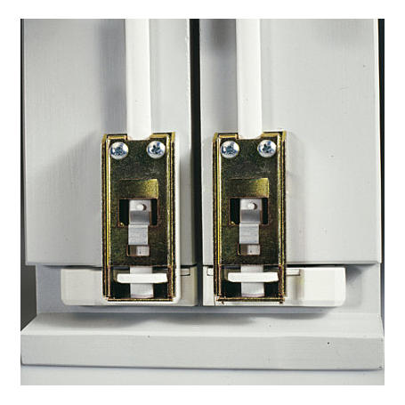 ABUS DSB550 W Doppelschliessblech f. FOS550, weiß