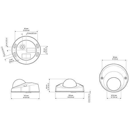 Axis P3904-R IP-Kamera 720p PoE IP67 IK08