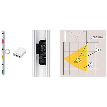 Axis P8524 Metric Black IP-Kamera 720p PoE