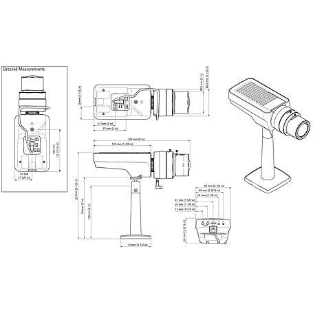 Axis Q1635 IP-Kamera 1080p Tag/Nacht PoE