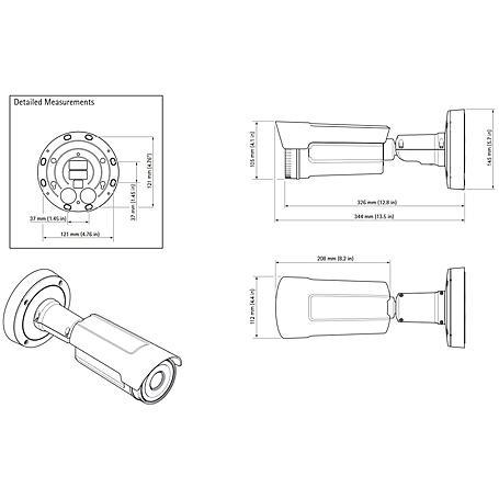 Axis Q1941-E 60 mm 8.3 fps QVGA T/N PoE IP66/67
