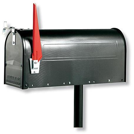 Burg Wächter 891 S U.S. Mailbox, schwarz