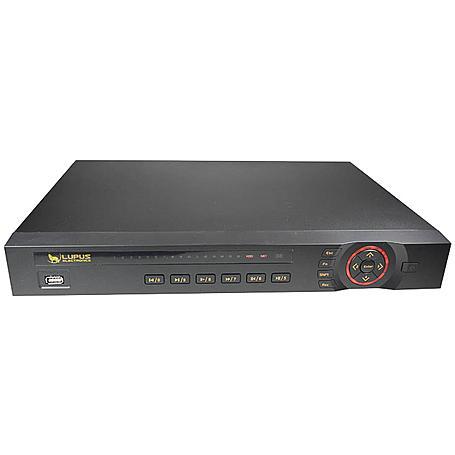Lupus - 10008 - LE918 8-CH Rekorder, mit 2TB HDD