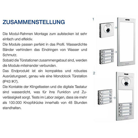 Fermax Skyline VDS Video Modul W, 7421