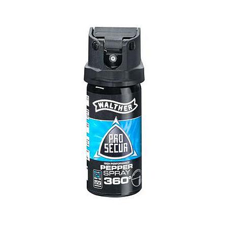 Walther ProSecur Pfeffer Spray 360° - ballistisch