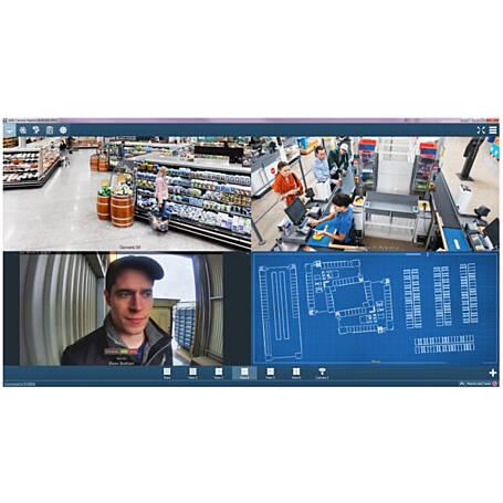 Axis Camera Station Software, Universal, 4 Kanal