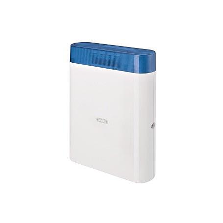 Abus AZSG10010 Draht-Außensirene, blau