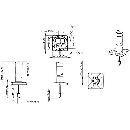 Axis F1004 Sensor Objektiv Einheit Bullet 720p 8m