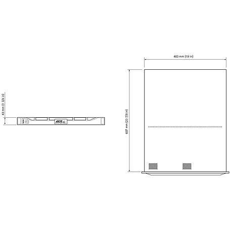 Axis S1032 MKII NVR Rack 32 Kanal