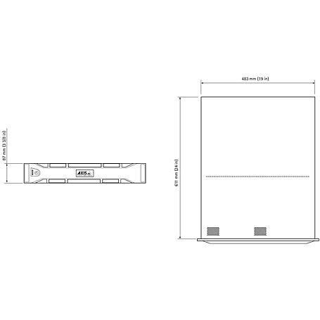 Axis S1048 MKII NVR Rack 48 Kanal