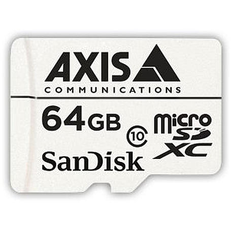 Axis Speicherkarte microSDXC 64GB + Adapter