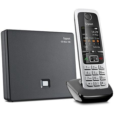 Gigaset C430A GO Schnurloses Telefon schwarz