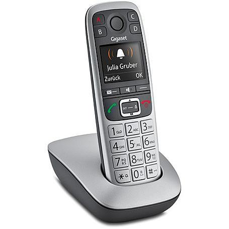 Gigaset E560 Schnurloses Telefon platin