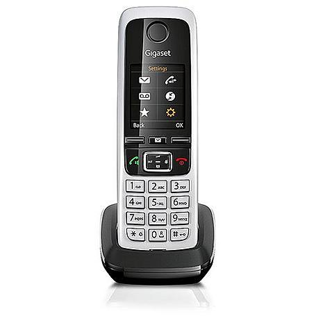 Gigaset C430HX Mobilteil + Ladeschale schwarz
