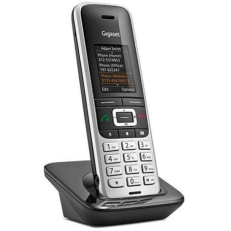 Gigaset S850HX Mobilteil + Ladeschale platin / sch