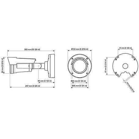 Axis P1435-LE 22mm IP-Kamera 1080p T/N IR PoE IP66