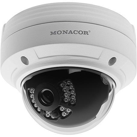 Monacor AXC-2036DF analog Kamera 1080p T/N IR IP66