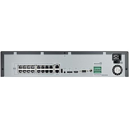 Hanwha SRN-1673S 3TB NVR 16-Kanal HDMI PoE+ 3 TB