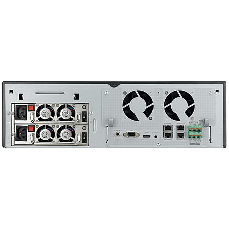 Hanwha SRN-4000 NVR 64-Kanal HDMI 2 TB HDD