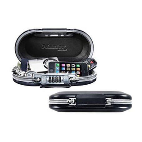 Masterlock 5900EURD Minisafe Zahlenschloss / Kabel
