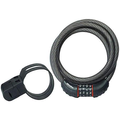 Masterlock 8120EURDPRO Kabelschloss mit Zahlencode