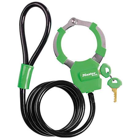 Masterlock 8275EURDPRO Handschellenschloss grün