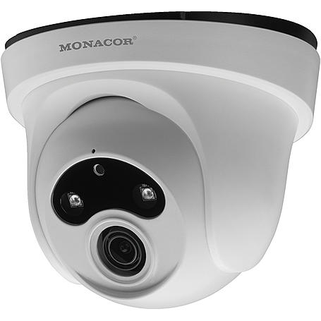 Monacor INC-2036DF IP-Kamera 2MP T/N IR PoE IP66