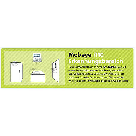 Mobeye i110 All-in-One GSM-Einbruchsalarm