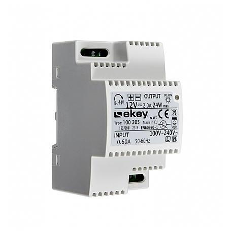 eKey Netzteil Reiheneinbau REG 230V/12VDC 100 205