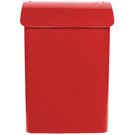 Safepost 14 kleiner Sicherheitsbriefkasten rot
