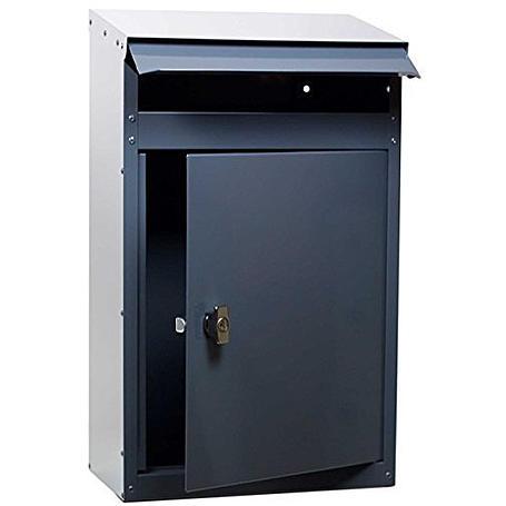 Safepost PB45 Paketbriefkasten anthrazitgrau
