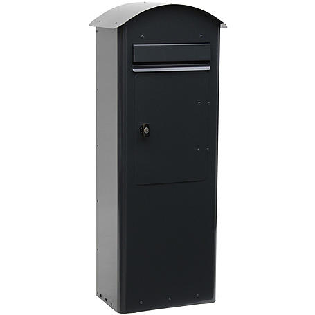 Safepost 70-5 Combi Briefkasten schwarz