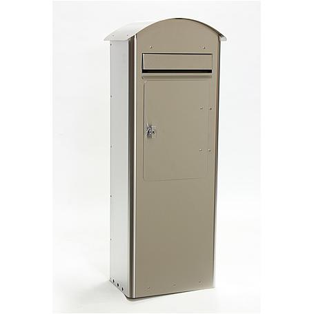 Safepost 70-5 Combi Briefkasten edelstahl