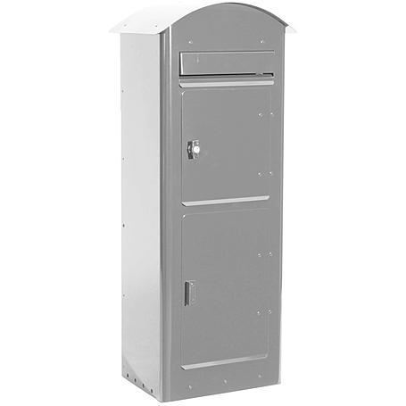 Safepost 80 Paketbriefkasten silbergrau
