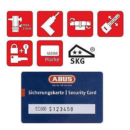 ABUS Schließzylinder EC660 oder ECK660