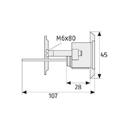 ABUS Außenzylinder EC550 - ECCR590NP