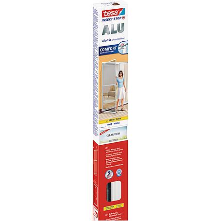 tesa® Alu-Fliegengitter Alu Comfort 100x220 weiß