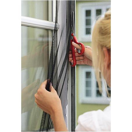 tesa® Fliegengitter Fenster 130x130 weiß