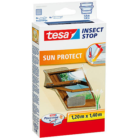 tesa® Klett Sun Protect Dachfenster 120x140 anthra