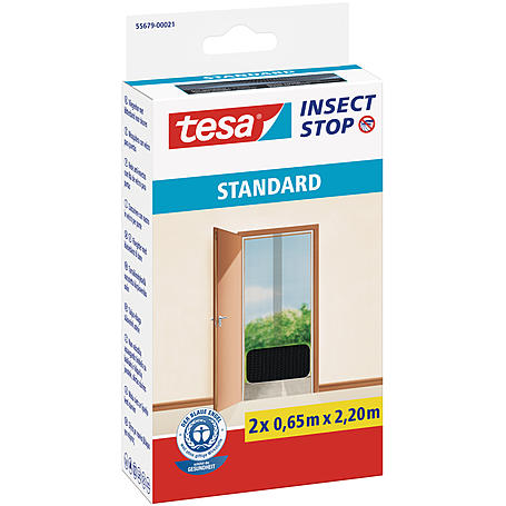 tesa® Fliegengitter Standard Türen 130x220 anthraz